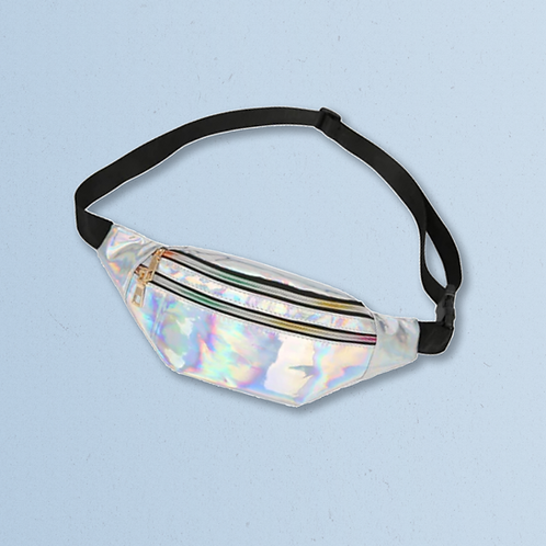 Space Silver Bumbag