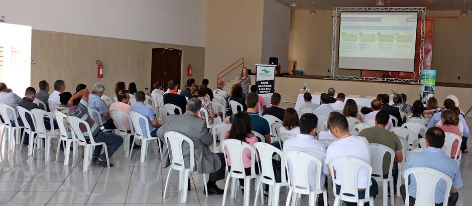 Desenvolve SP apresenta opções de crédito em workshop em Holambra