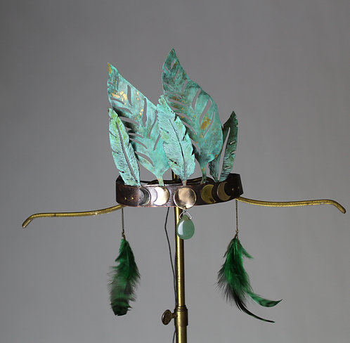 Forest Goddess Headpiece