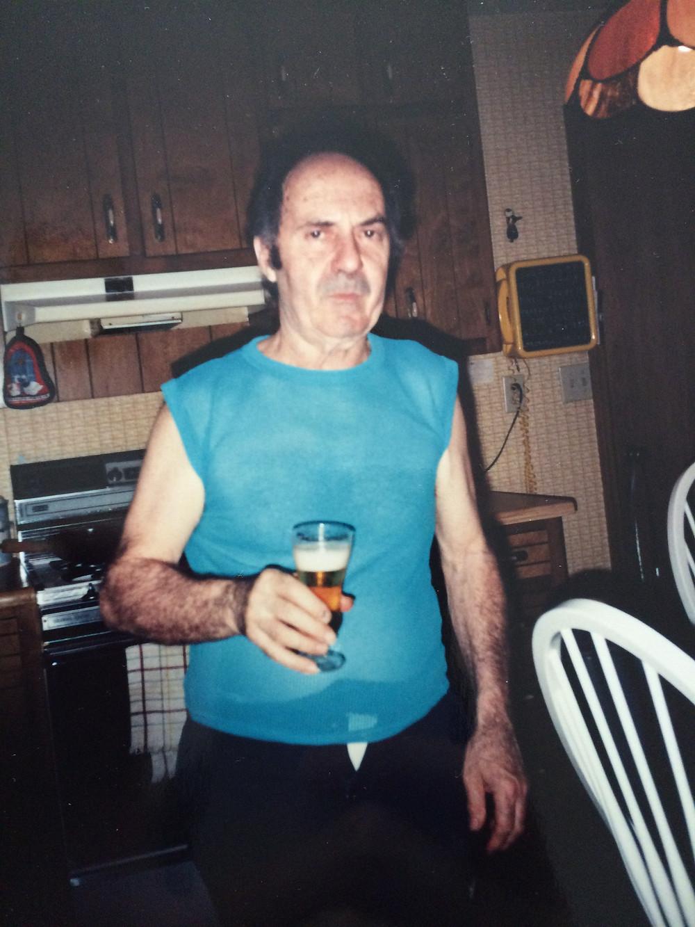 My grandpa, Tito, in utter badassery mode <3
