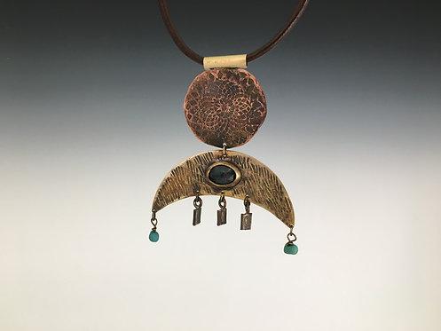 Blue Kyanite Ritual Amulet