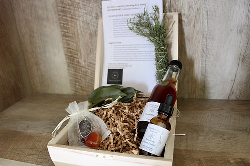 Motherwort Carnelian Sacred Ritual Box
