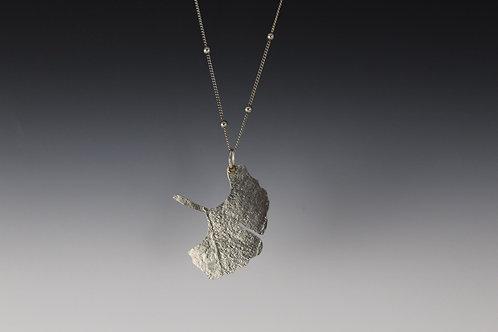 Gingko Pendant Necklace