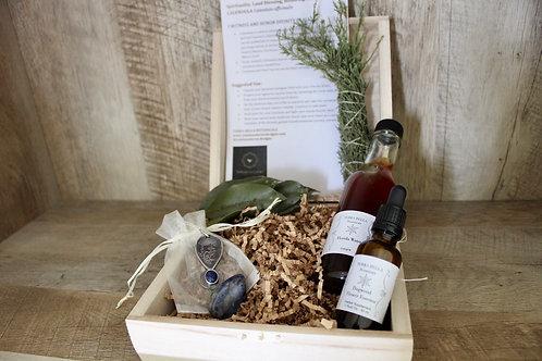 Calendula Sodalite Sacred Ritual Box