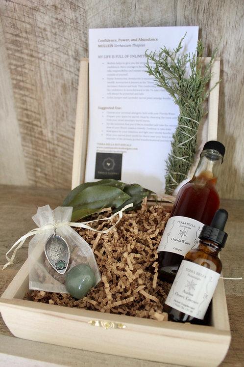 Mullein Aventurine Sacred Ritual Box