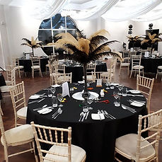 We provided our Centrepieces and table c