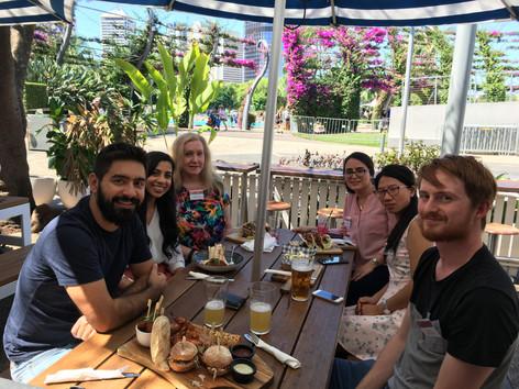 Lunch during QGJM workshop