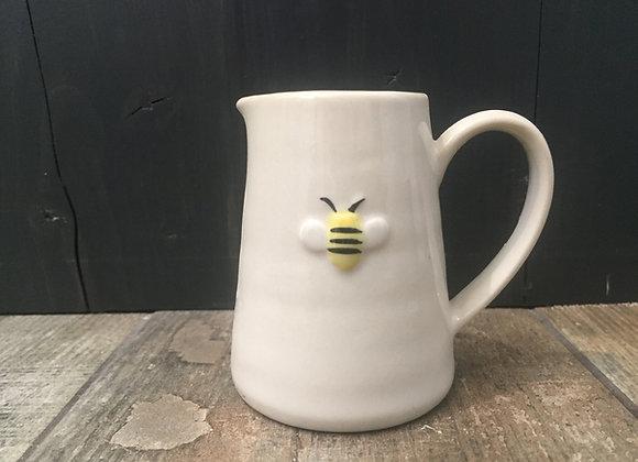 Gisela Graham Mini milk/cream jug with embossed bee