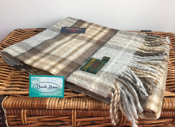Tweedmill Textiles McKellar tartan pure wool knee blanket