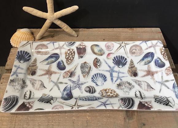 Gisela Graham nautical shells/starfish plate