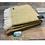 Thumbnail: Tweedmill Textiles yellow and grey illusion pure wool blanket/throw