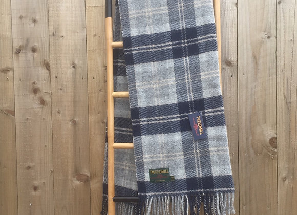 Tweedmill Textiles Bannockbane tartan pure wool knee blanket