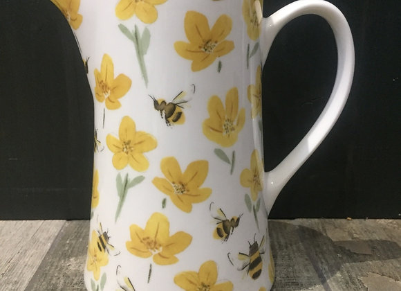 Gisela Graham bone China medium bee jug