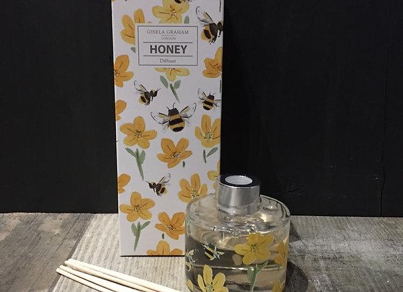 Gisela Graham Honey scented diffuser in gift box