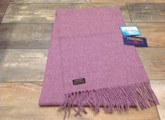 Tweedmill Textiles Pure New Lambswool Heather Scarf