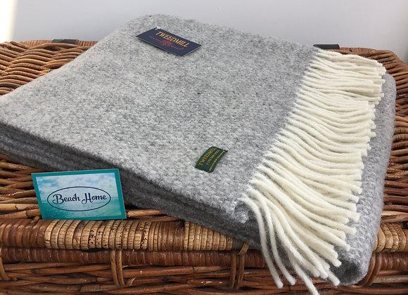 Tweedmill Textiles Grey Illusion knee blanket