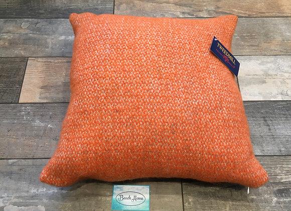 Tweedmill Textiles Pure New Wool Pumpkin Illusion 46x46 cm Cushion