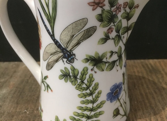 Gisela Graham Small bone China dragonfly milk/cream jug