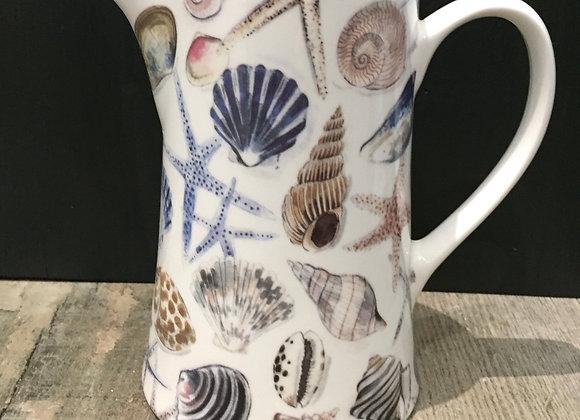 Gisela Graham bone China medium shell jug
