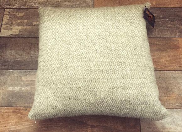 Tweedmill Textiles Pure New Wool green grey illusion 50x50 Cushion
