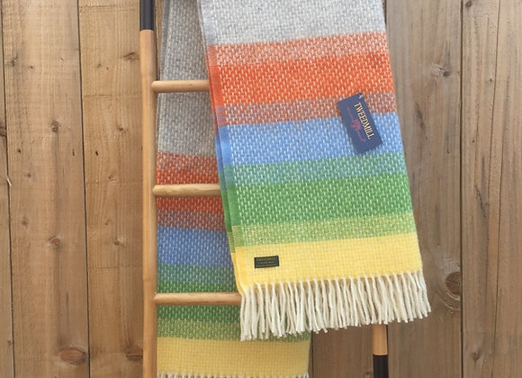 Tweedmill Textiles Pure New Wool Calypso Ombre Throw/Blanket
