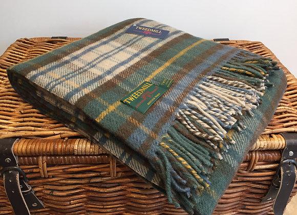 Tweedmill Textiles Antique Dress Gordon Blanket