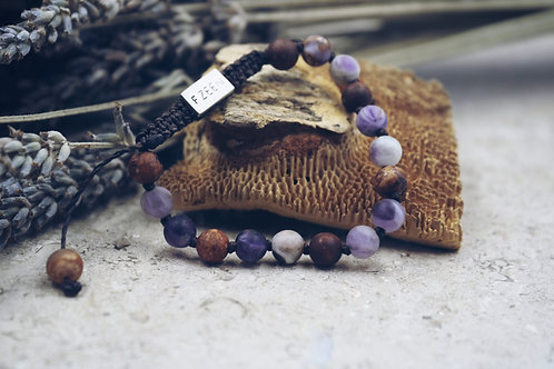 The Chevron Agate Bracelet