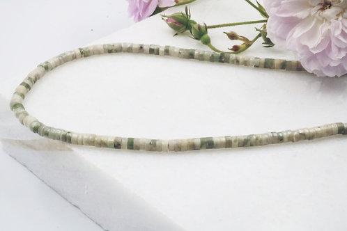 Polynomi Necklace in Jade