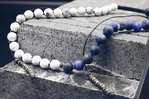 The Sodalite/Howlite Necklace