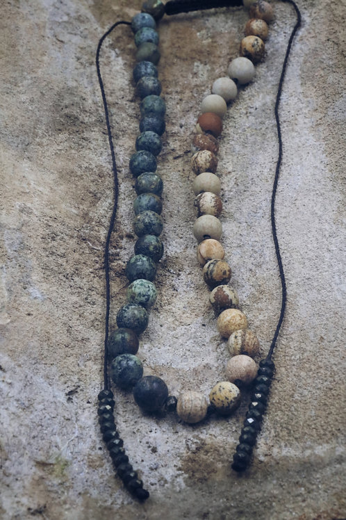 The African Picture Necklace