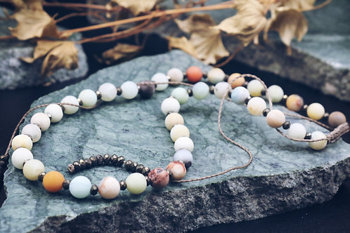 The Amazonite Necklace