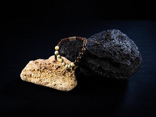 The Butter Jade/Bronzite Bracelet