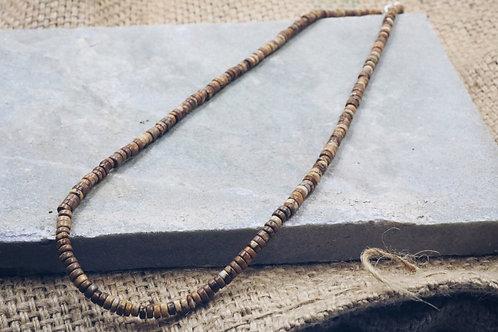 Polynomi Necklace in Picture Jasper
