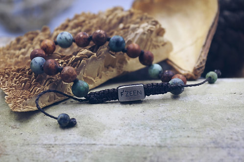 The African Agate Bracelet