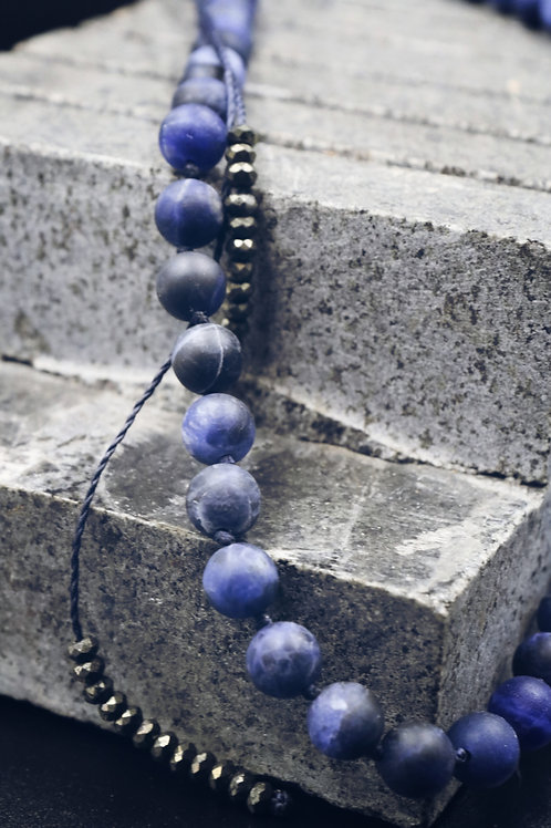 The Sodalite Necklace