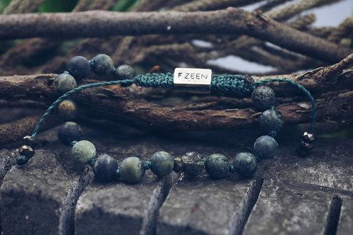 The Green Jasper Bracelet