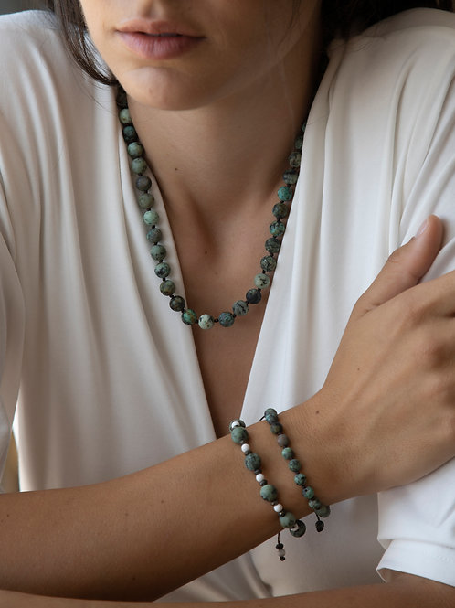 The African Turquoise Necklace