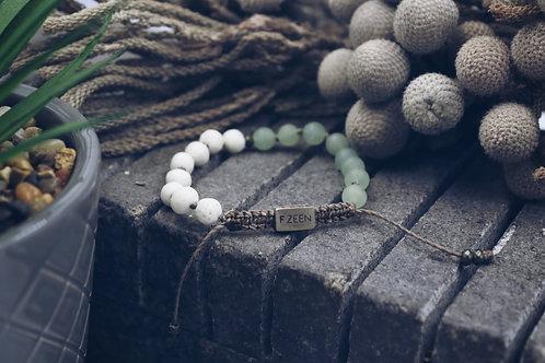 The Aventurine/Coral Bracelet