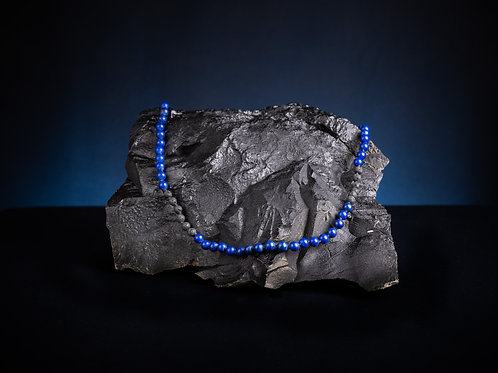 The Lava/Lapis Lazuli Mala