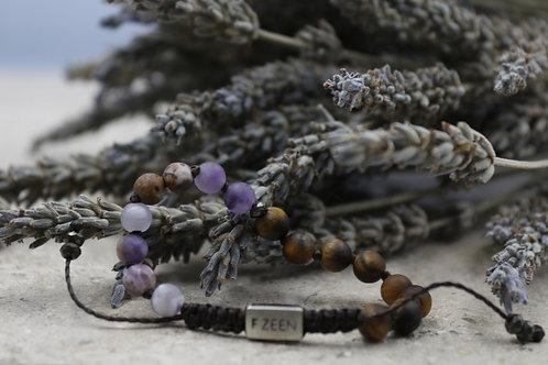 The Tiger/Amethyst Bracelet