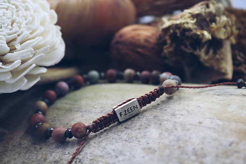 The Mookaite Pyrite Bracelet