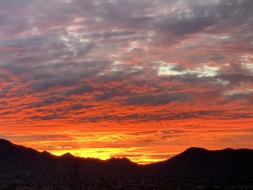 Sunrise Over SOHO Scottsdale