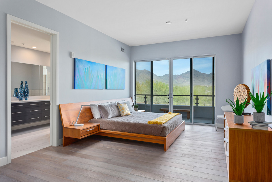 Spacious Master Suite with McDowell Mountain Views.
