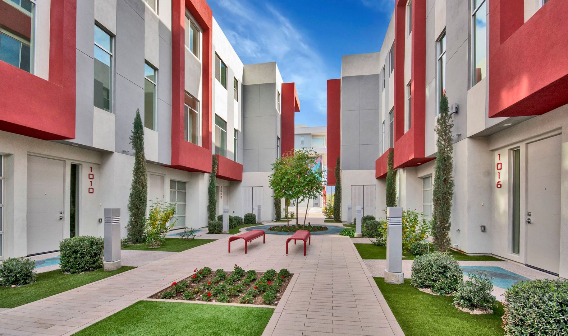 SOHO Courtyard View