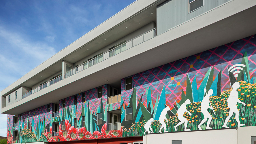 Enjoy the public art around SOHO.