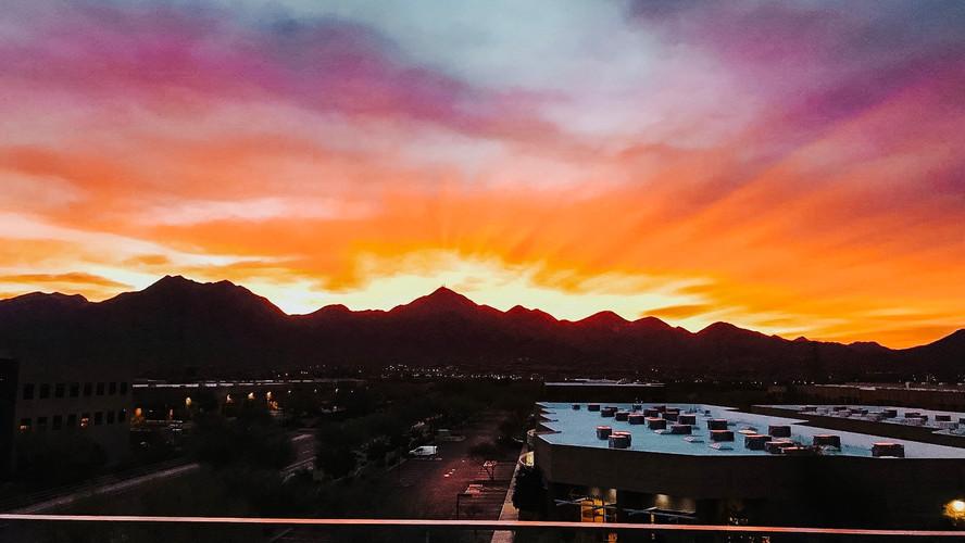 Spectacular Sunset Views