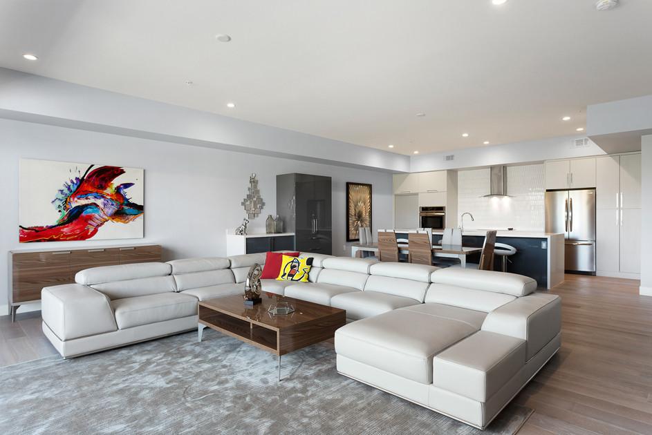 Luxury Loft Living Spaces