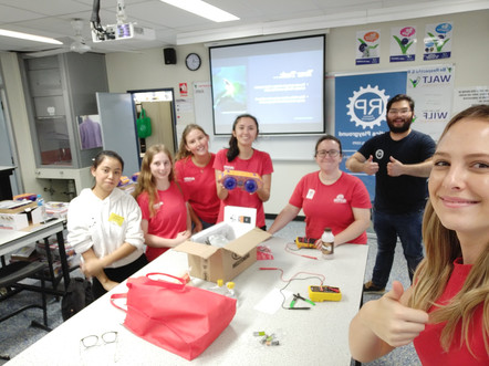 The Women In Engineering team at Griffith