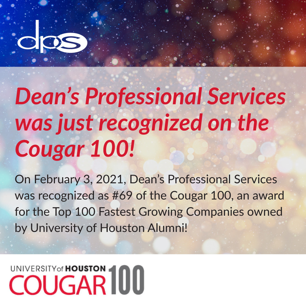 Uh Christmas Break 2021 Dps Listed On The 2021 Cougar 100 Hosted By The Uh Alumni Association