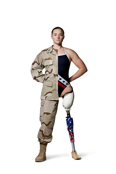 Melissa Stockwell soldier who lost a leg from a roadside bomb